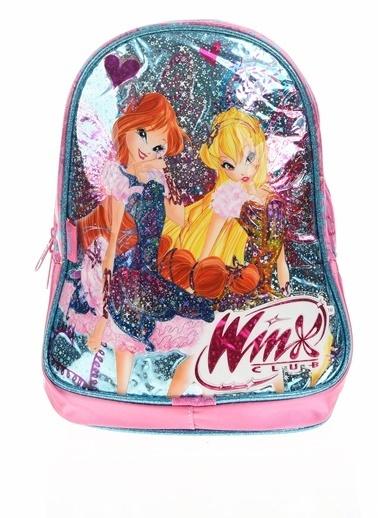 Winx Okul Çantası Pembe